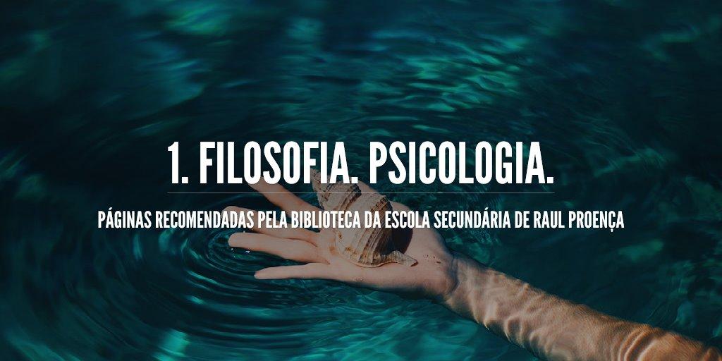 1. Filosofia. Psicologia.