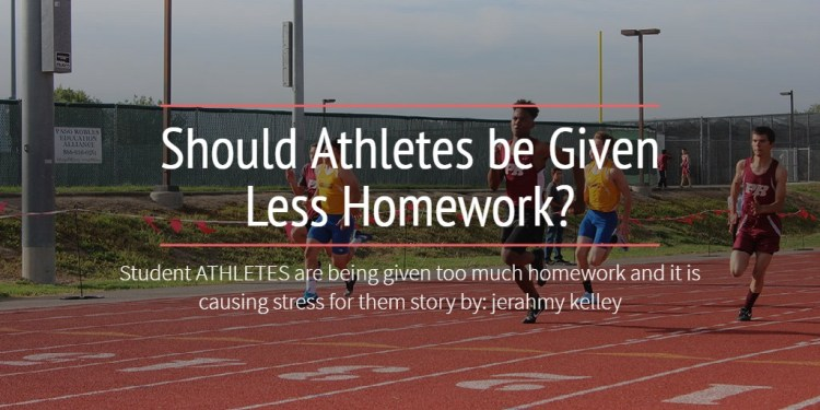 Should Athletes be Given Less Homework?