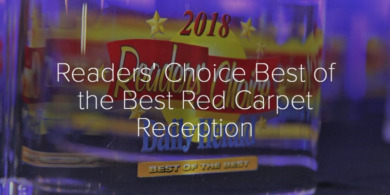 Readers' Choice Best of the Best Red Carpet Reception