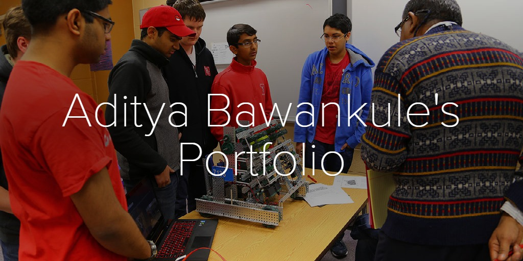 Aditya Bawankule's Portfolio