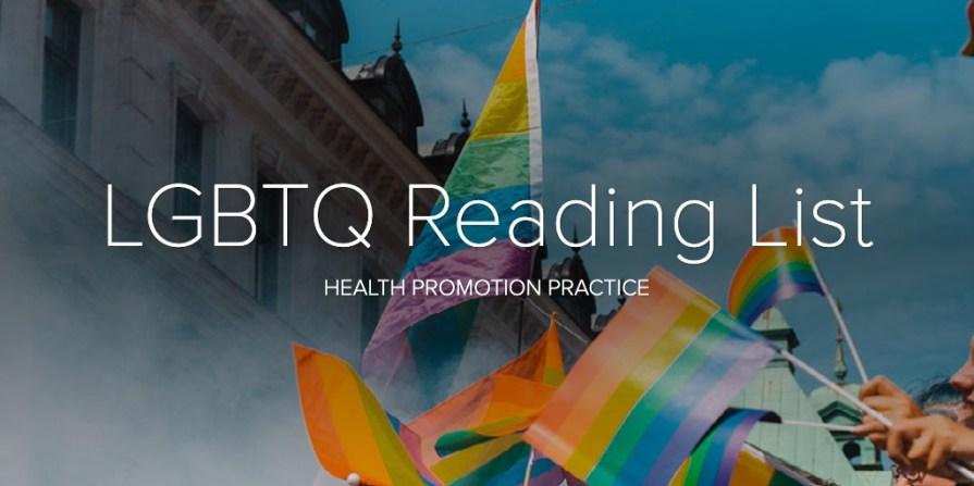 LGBTQ Reading List