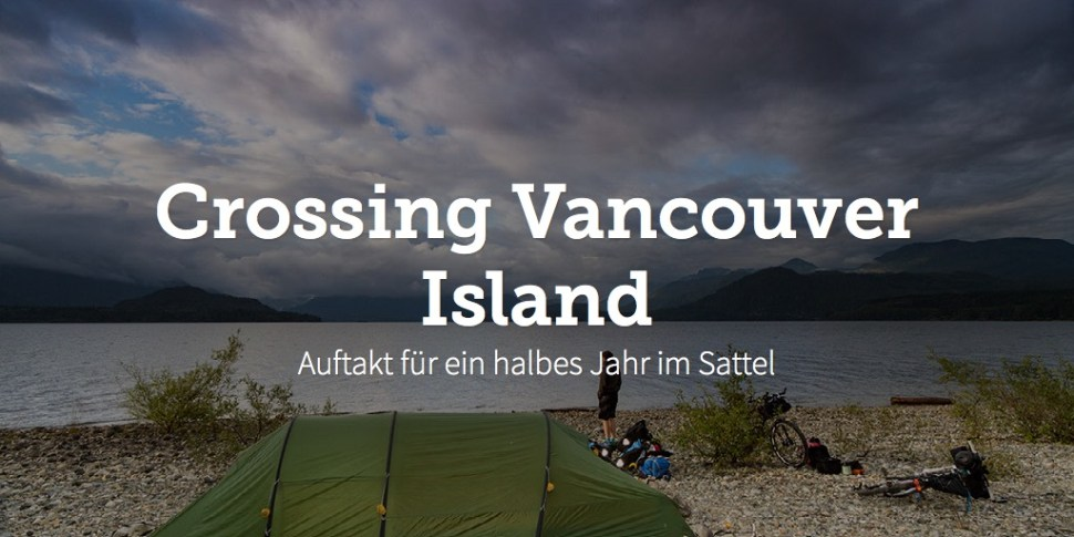 Crossing Vancouver Island
