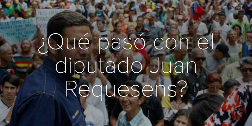 ¿Qué pasó con el diputado Juan Requesens?
