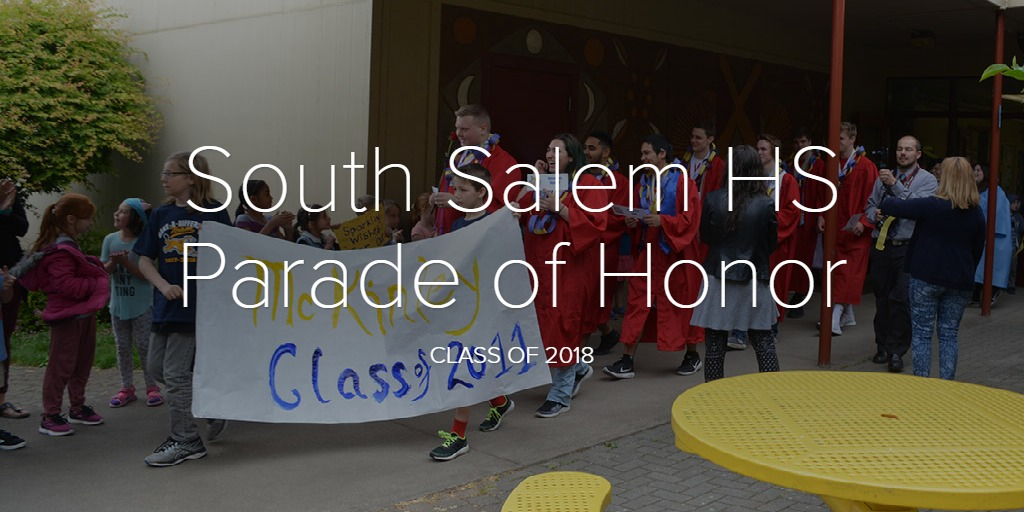 South Salem HS Parade of Honor