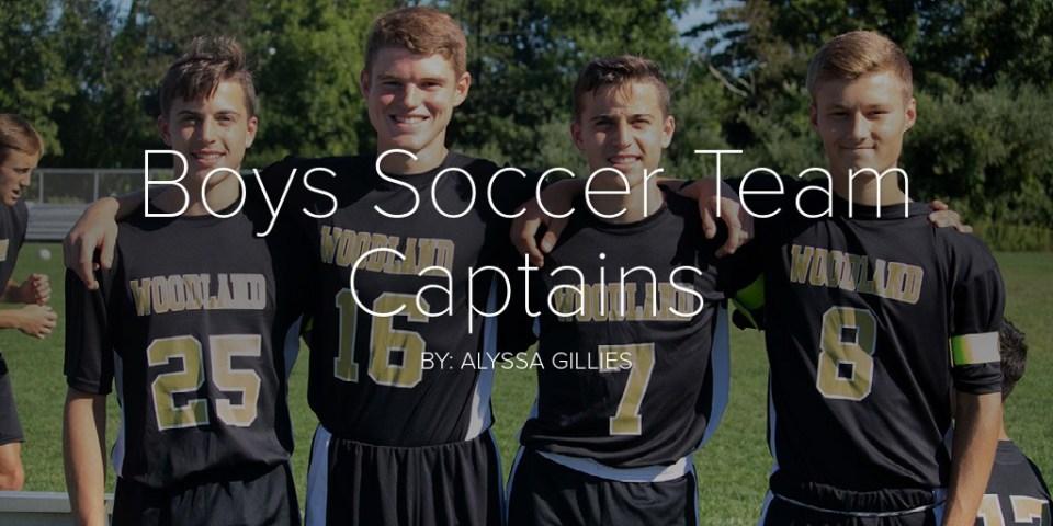 Boy's Soccer Team Captains