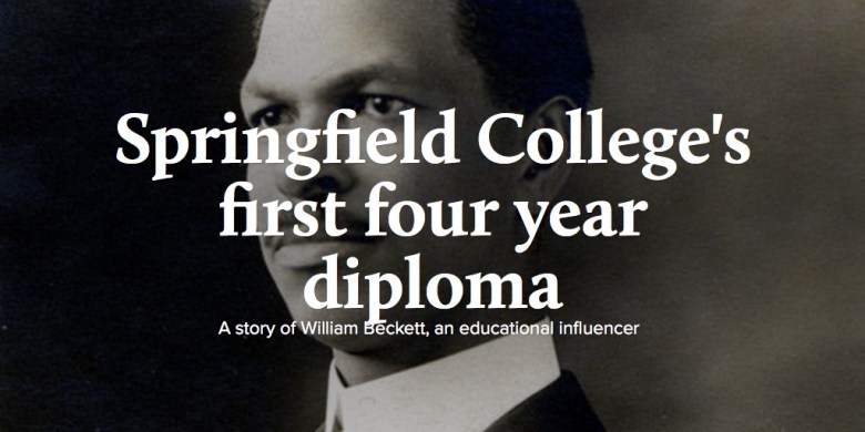 Springfield College's first four year diploma