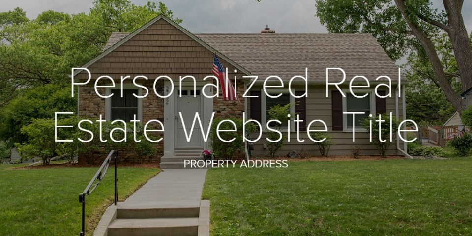 Real Estate Photography. Personalized website link.