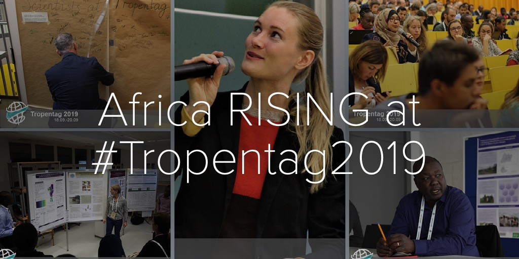 Africa RISING at #Tropentag2019
