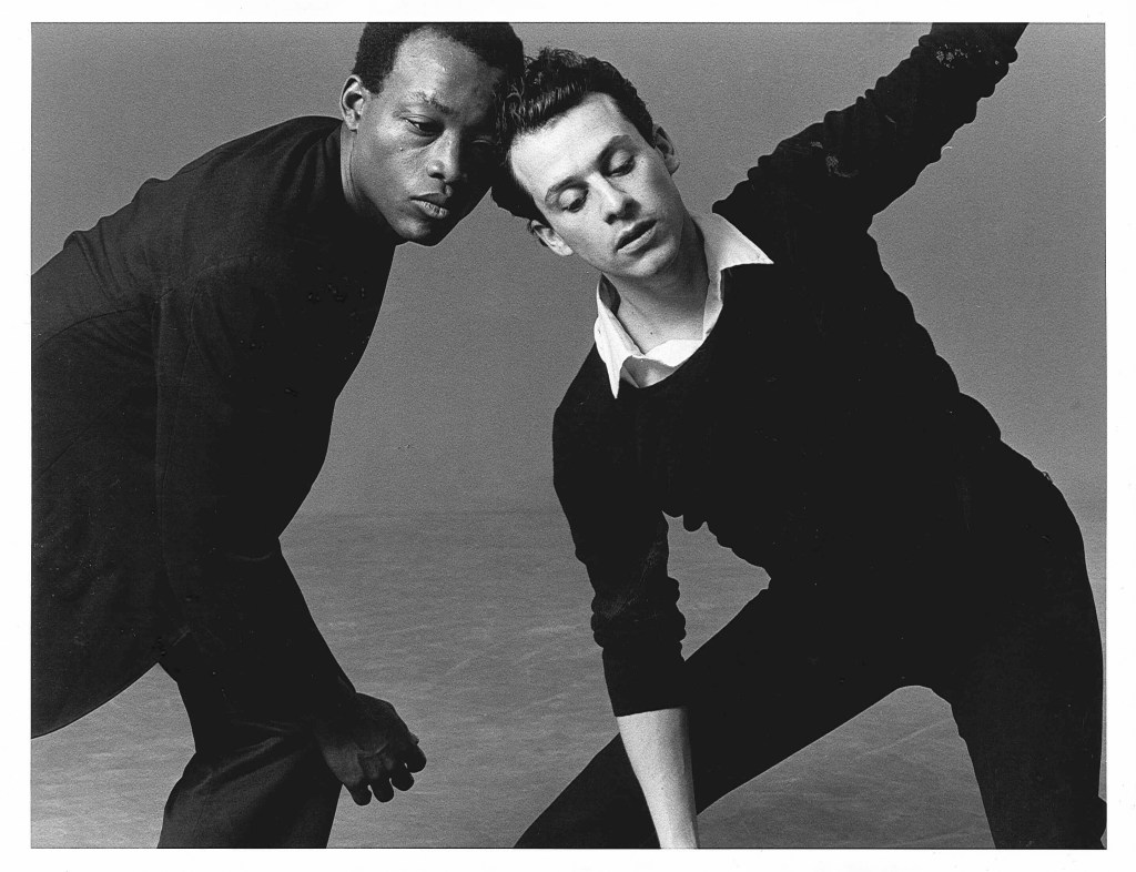 Bill T. Jones and Arnie Zane. Photo by Lois Greenfield
