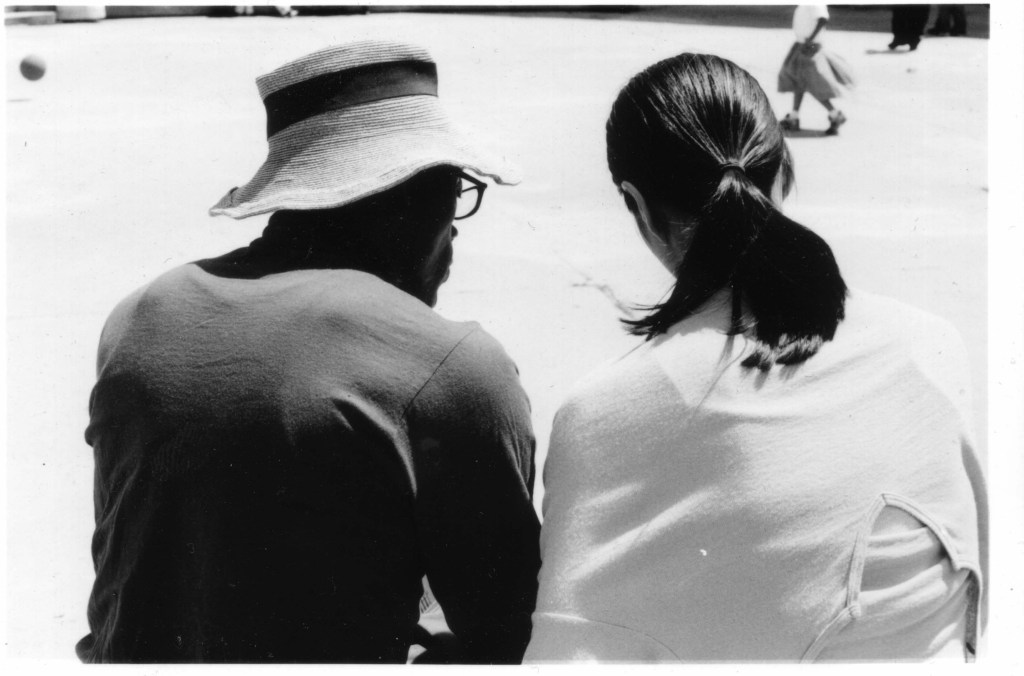 Bill T. Jones and Janet Wong at work together. Photo Toshiko Oiwa