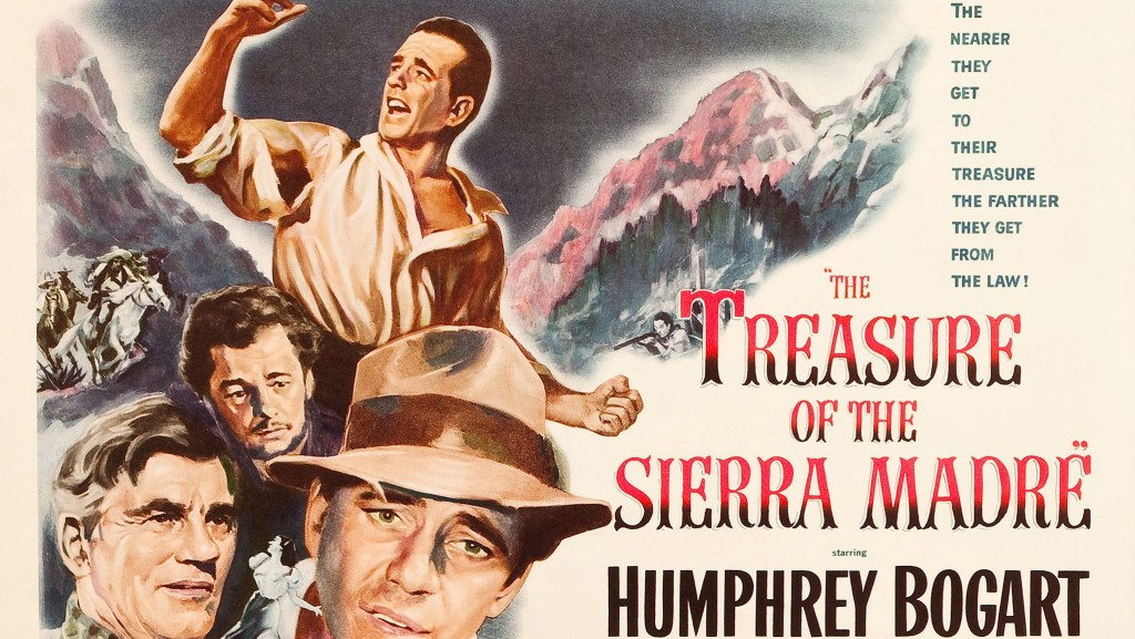 A movie that Rian Johnson returns to again and again: John Huston's atmospheric masterpiece Treasure of the Sierra Madre.
