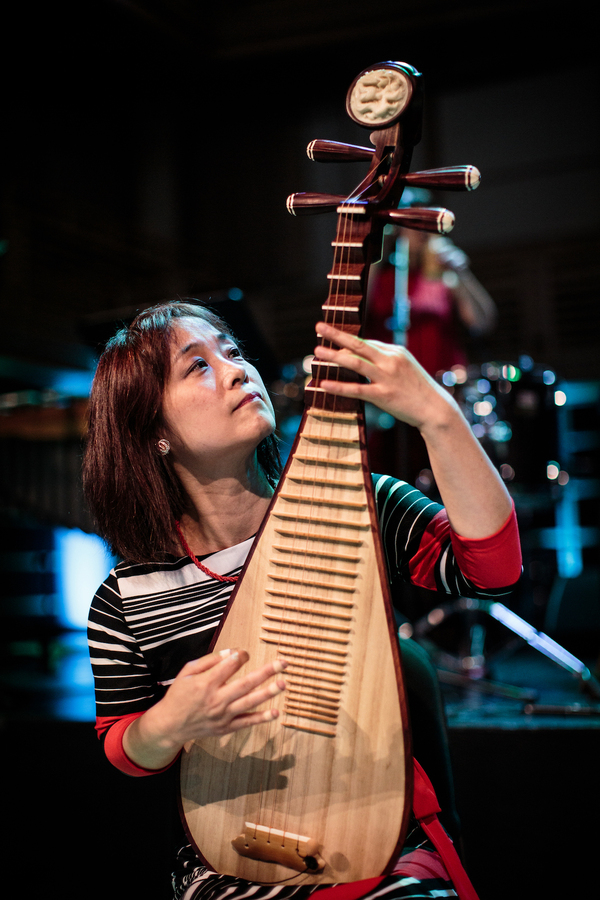 Wu Man, pipa player and collaborator in Silkroad
