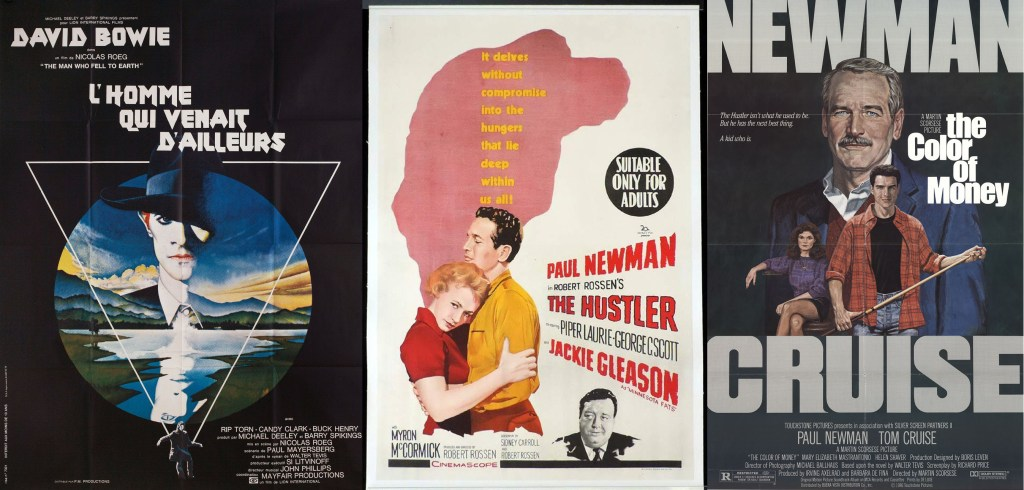 Three films made from Walter Tevis novels: Nic Roeg's