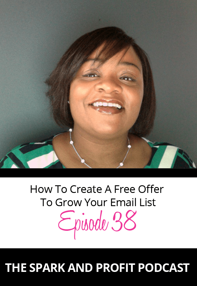 spark and profit podcast how to opt in