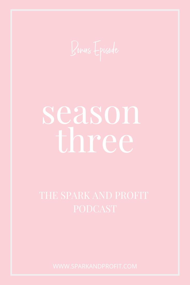 spark and profit season three