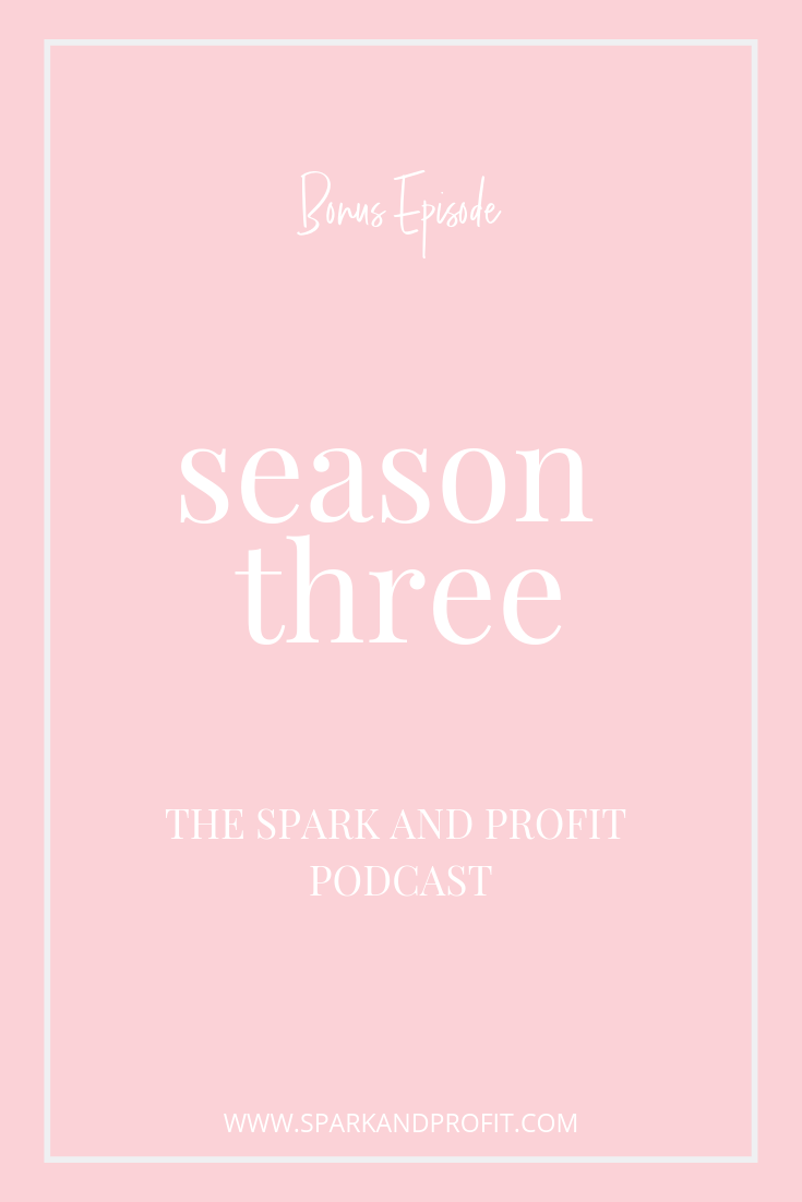 Find out what to expect on Season Three of the Spark and Profit podcast.