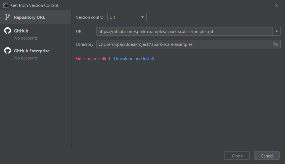 Spark maven build intellij