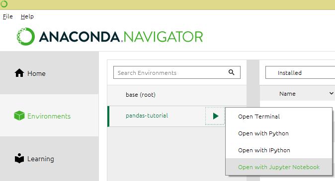 pandas dataframe tutorial