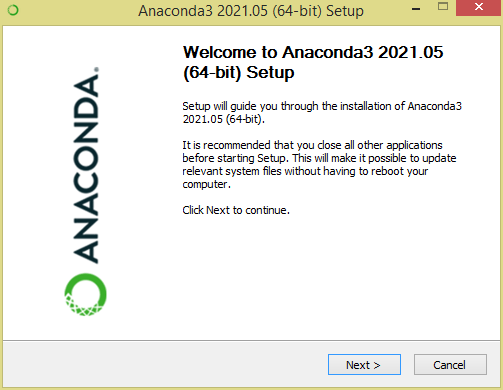 install anaconda run jupyter