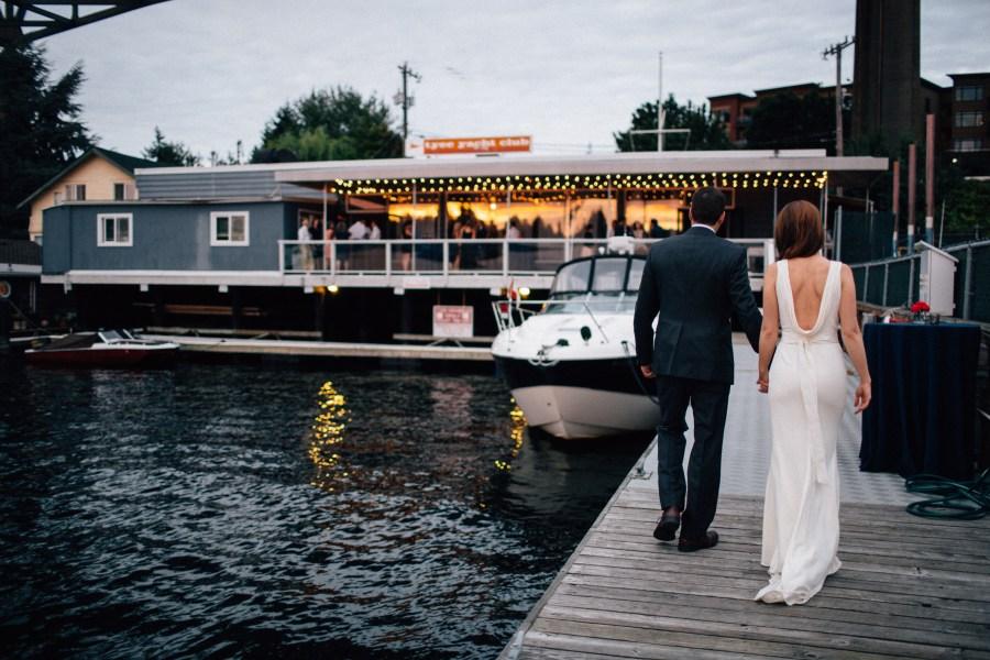 tyee yacht club wedding photos