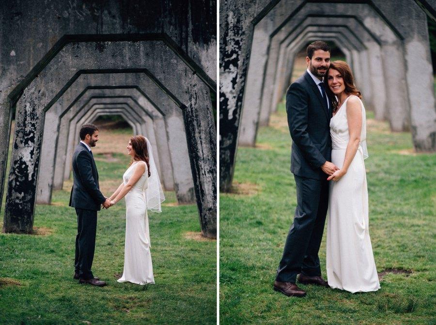 gas works wedding photos