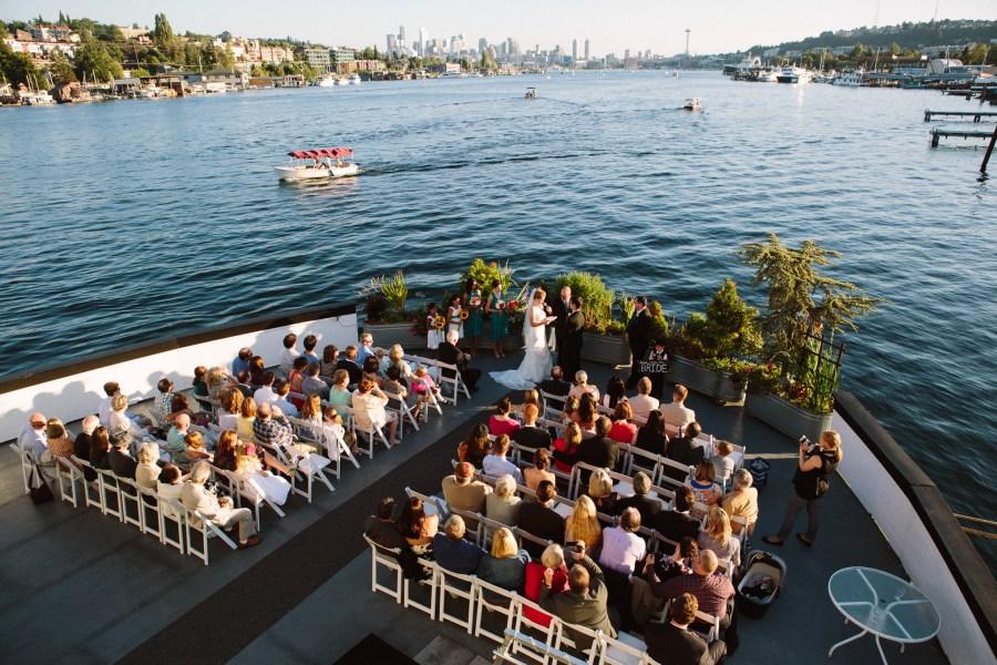 seattle ferry boat wedding