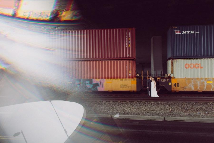 train wedding photos tacoma