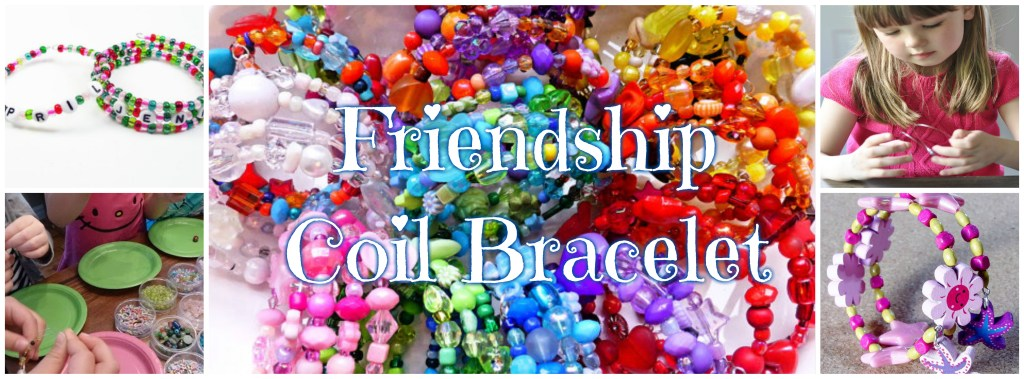 friendship coiled bracelet