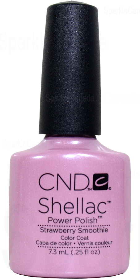 CND Shellac Strawberry Smoothie By CND Shellac 12 2020 Sparkle Canada One Nail Polish Place