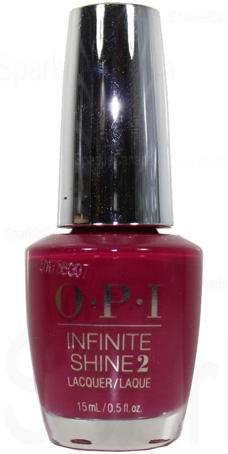 OPI Infinite Shine Berry On Forever By OPI Infinite Shine