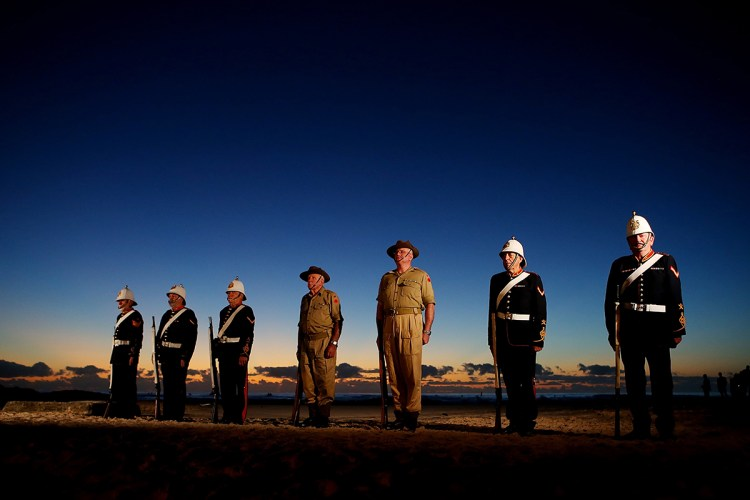ANZAC Day Commemorated At Currumbin
