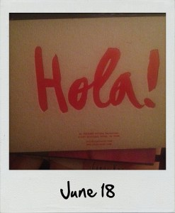 Polaroid | June 18
