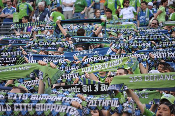Seattle Sounders. I heart Seattle