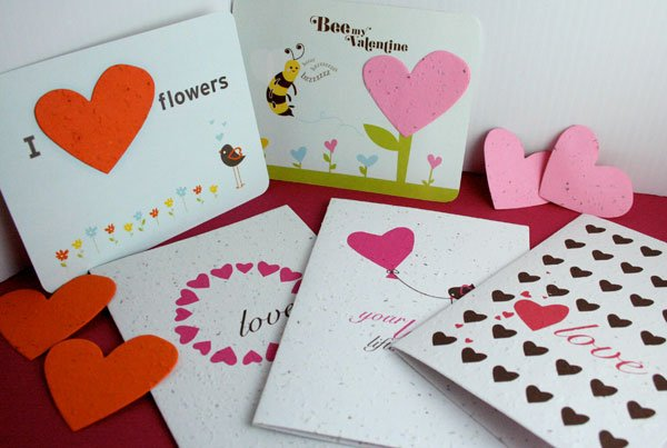Plantable Valentine's Day Cards