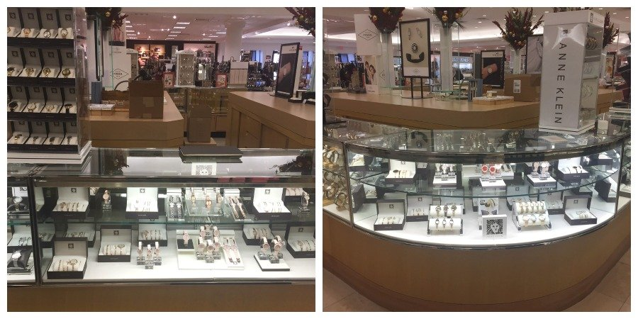 Gorgeous watches from Anne Klein at Dillard's.