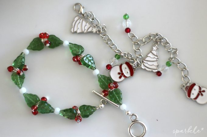 Holiday and Winter Jewelry Making for Kids