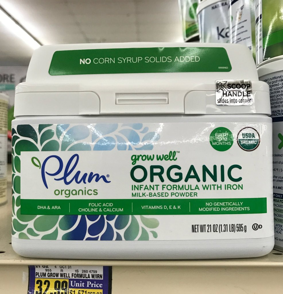 Plum Organics at Albertsons