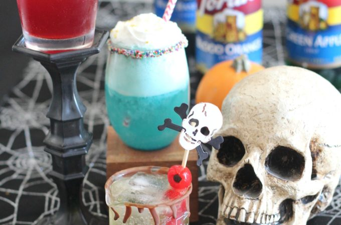 Halloween Mocktails for Little Monsters