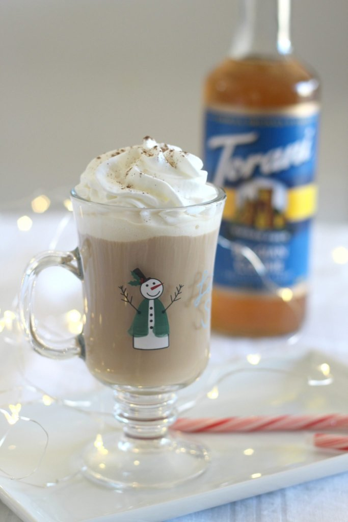 The Naughty Belgian Cookie Coffee...why so naughty? Because it has vodka and Irish Cream liqueur!