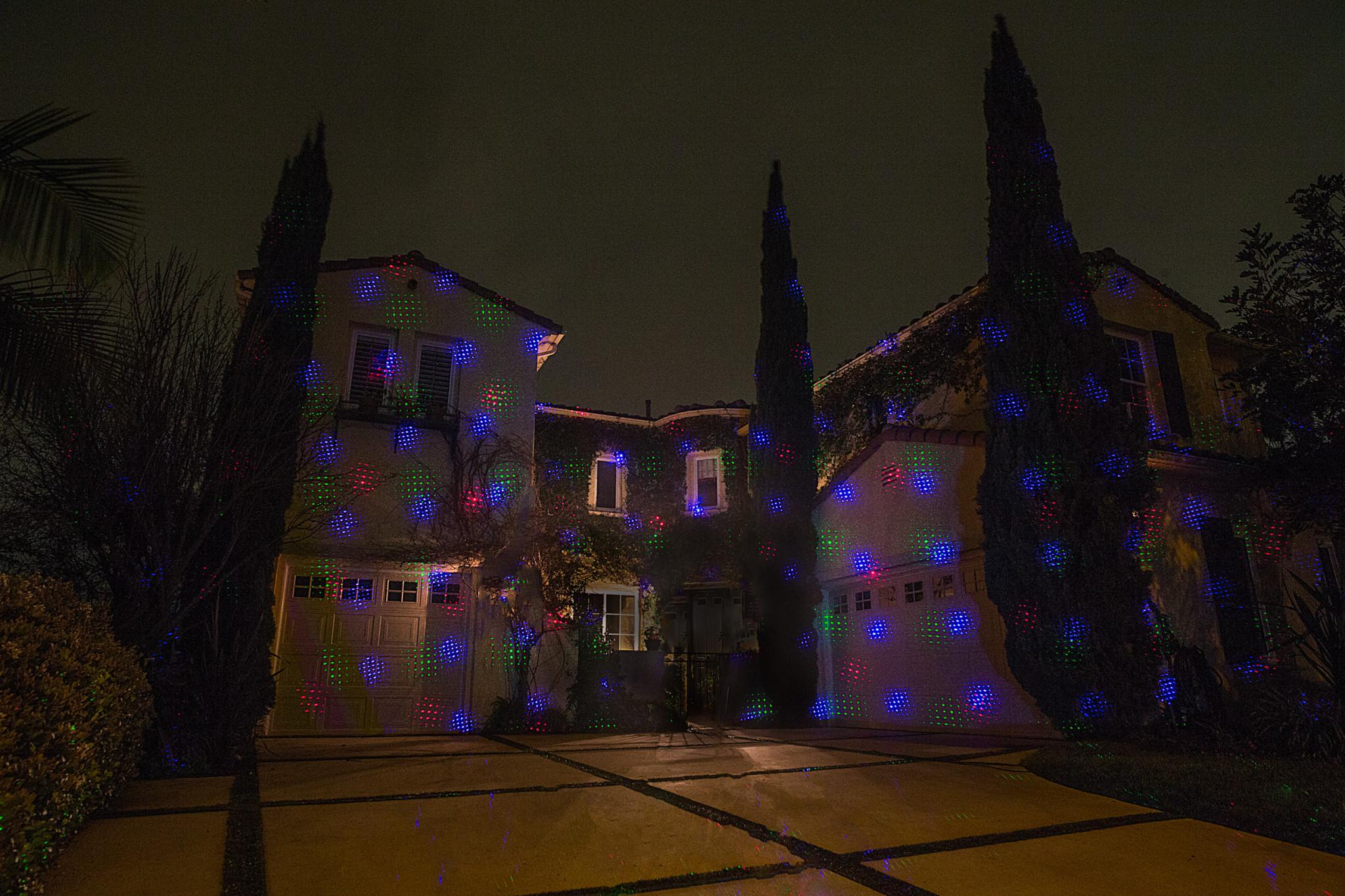 sparkle magic blue laser