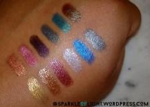 sparkleoflight makeup addiction cosmetics pigments review