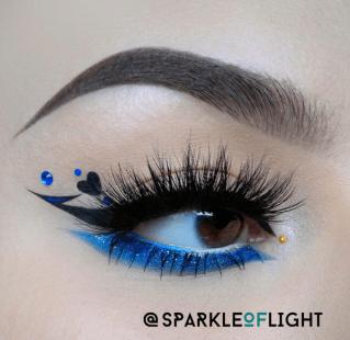 sparkleoflight makeup iconic lashes house of lashes