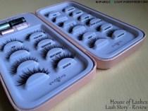 sparkleoflight house of lashes review lash story organize false lashes