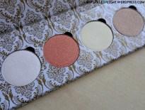 sparkleoflight makeup addiction holy glow volume 1 vol palette highlighter shades