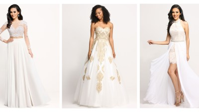 Invited to an All-White Wedding? Wear your Prom Gown!