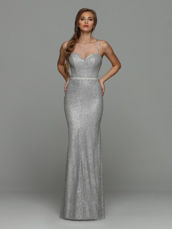 1f1e3431 Sparkle Prom Style #71920: Glitter Fit & Flare Sheath Prom Dress with  Sweetheart Neckline & Spaghetti Straps. Criss Cross Back Straps, Braided  Beaded Belt ...