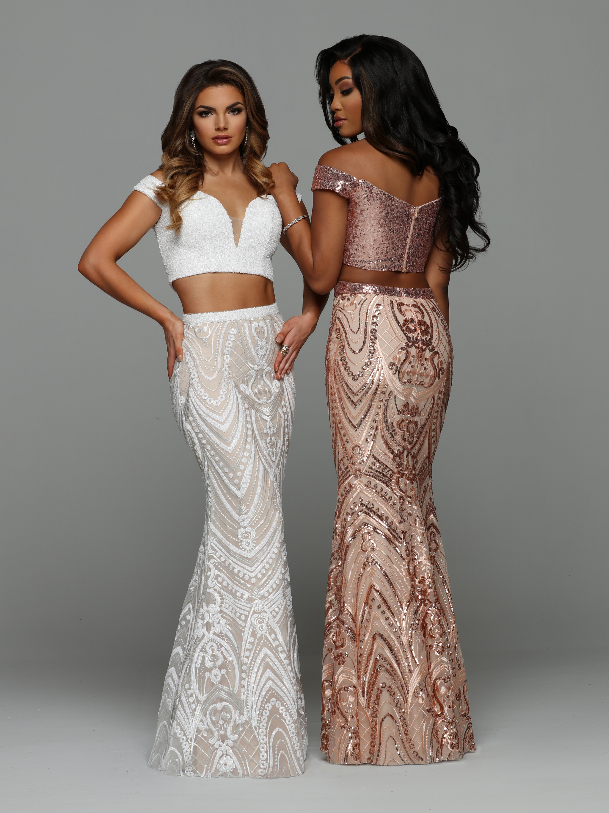 Top Prom Dress Trends For 2019 Rose Gold Prom Dresses Sparkle Prom Fashion Blog