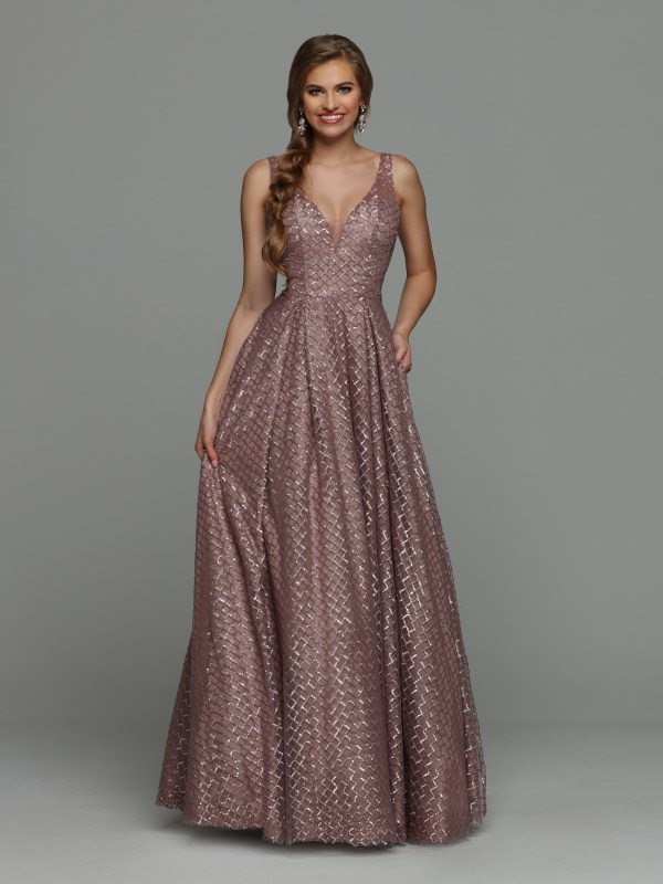 e19c93c9 NEW for 2019! Sparkle Prom Style #71940: Patterned Sequin Ball Gown Prom  Dress with V-Neckline & Modesty Panel, Deep V-Back, Pleated Full Skirt &  Floor ...