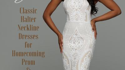 Halter Neckline Prom Dresses for 2019 – Sparkle Prom Fashion Blog