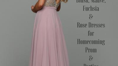Most Popular Prom Dress Colors 2019 Pink Blush Mauve & Rose – Sparkle Prom Fashion Blog